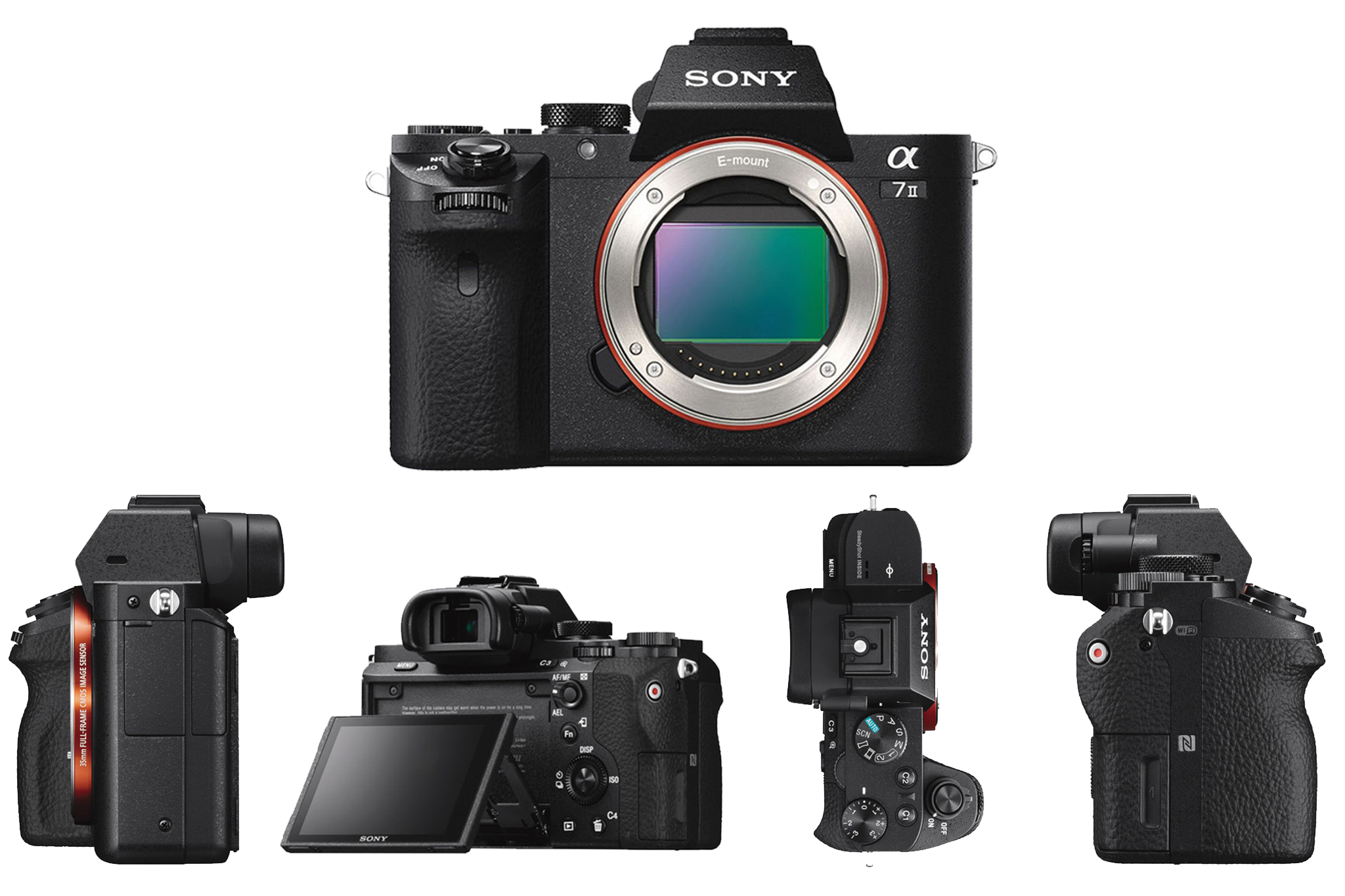 Sony A7 II All Sides